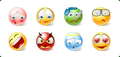Icons-Land Vista Style Emoticons 1