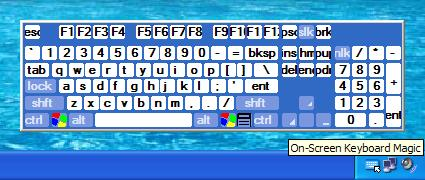 On-Screen Keyboard Magic Screenshot 1