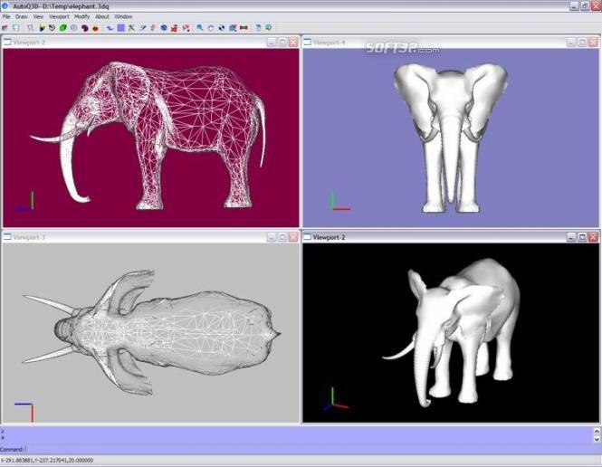 AutoQ3D Standard Screenshot 1
