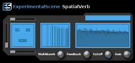 SpatialVerb VST Screenshot