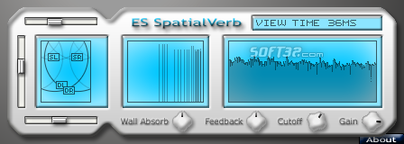 SpatialVerb VST Screenshot 3