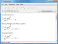 Equation Wizard 1