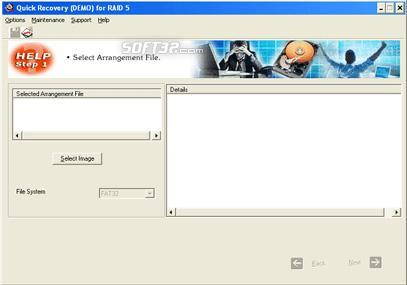 A Data Recovery Software-Q R for RAID 5 Screenshot 2