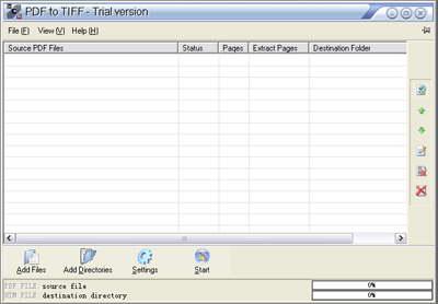 PDF to Tiff SDK(10+threads) Client License Screenshot