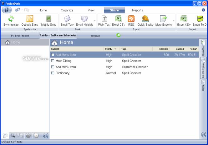 FusionDesk Starter Screenshot 3