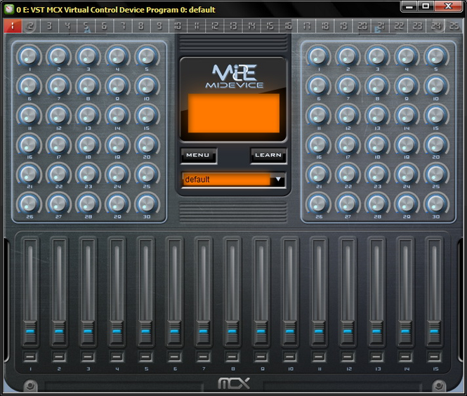 VST MIDI Control Extension Screenshot