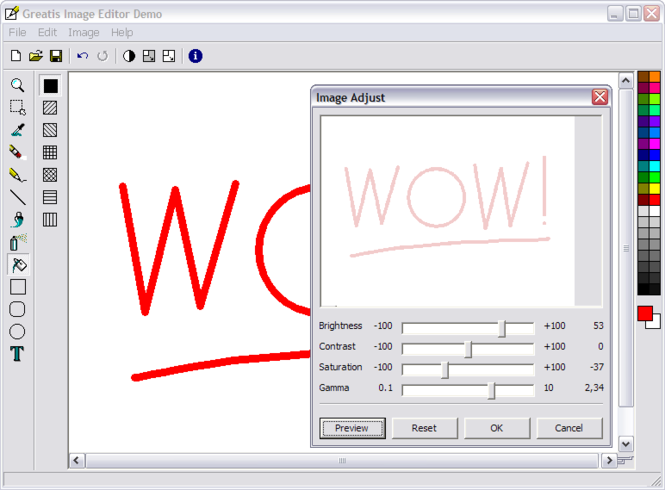 Greatis Image Editor Screenshot 1
