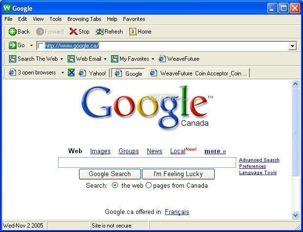 public internet cyber cafe kiosk browser Screenshot 2