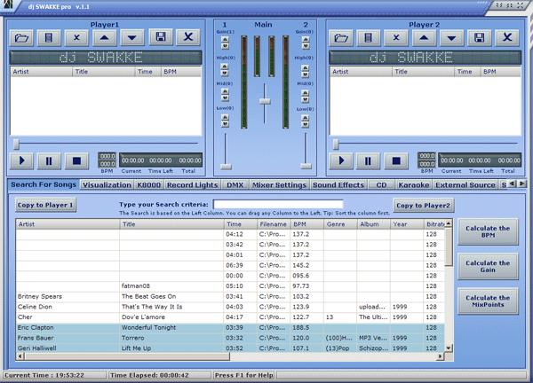 dj SWAKKE Silver Screenshot 1