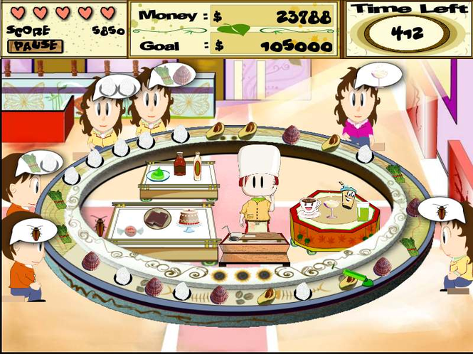 Sushi Frenzy Screenshot