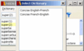 Concise Oxford French Dictionary Win 1