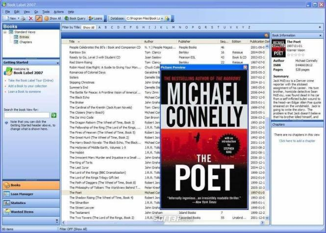 Book Label 2009 Screenshot 3