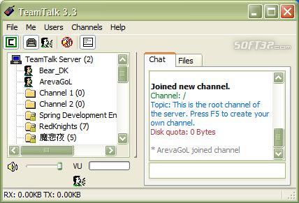 TeamTalk 3 SDK Screenshot 3