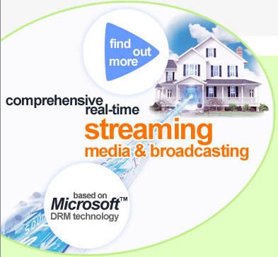 Streaming Media Solution Screenshot