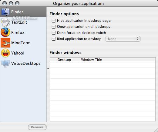 VirtueDesktops Screenshot 2