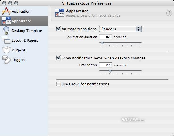 VirtueDesktops Screenshot 4