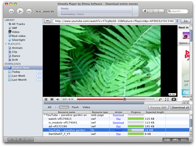 Eltima SWF Movie Player for Mac Screenshot 1