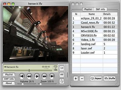 Eltima SWF Movie Player for Mac Screenshot 2