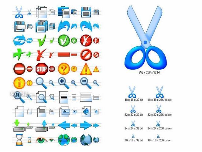Artistic Toolbar Icons Screenshot 3