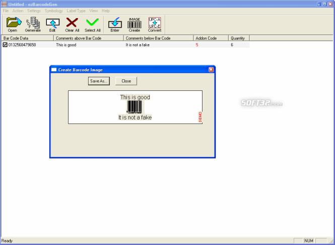 ezbarcodegen Screenshot 2