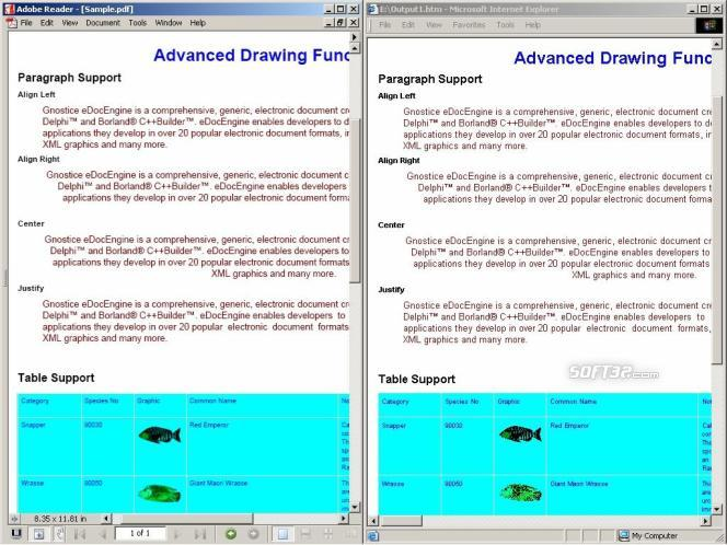 PDF2Many ActiveX/.NET Screenshot 1