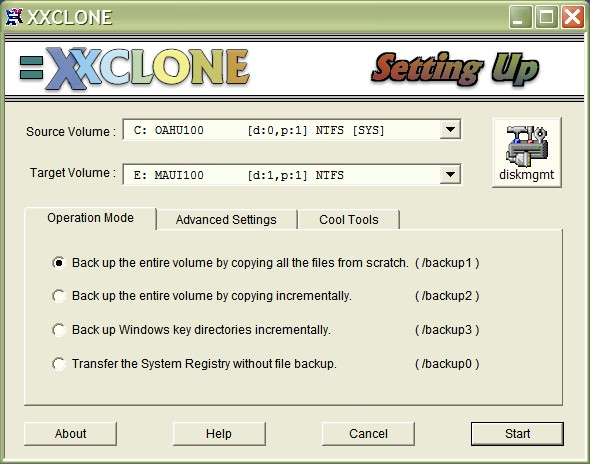 XXCLONE Screenshot