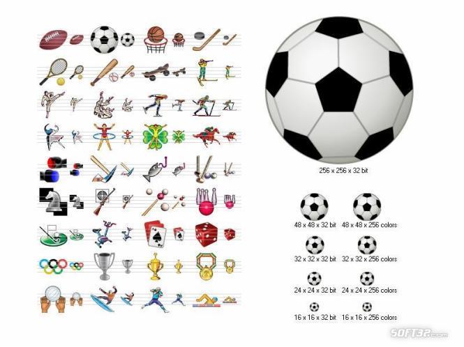 Sport Icons Screenshot 3