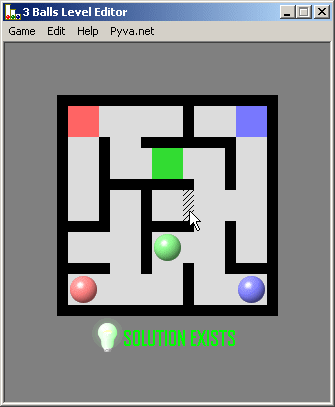 3 Balls Level Editor Screenshot 1