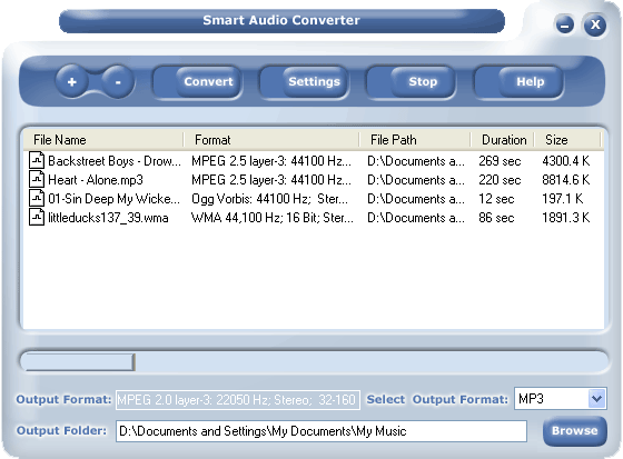 #1 Smart Audio Converter Screenshot 3