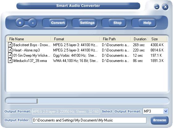 #1 Smart Audio Converter Screenshot