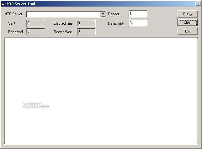 NTP Server Tool Screenshot 2