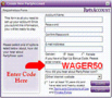 Party Poker Sign up Bonus Code - WAGER50 1