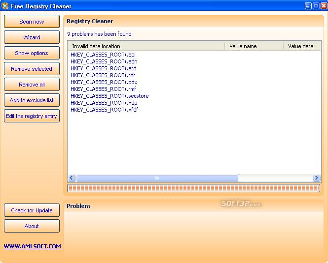 Free Registry Cleaner Screenshot 4