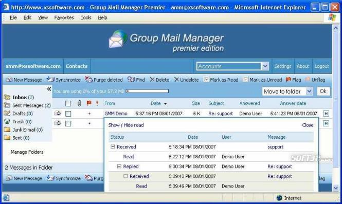 Group Mail Manager Premier Screenshot 2