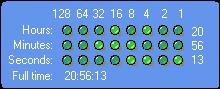 Binary Clock Screenshot 1