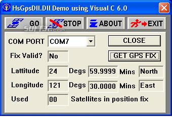 HS GPSDLL Library Screenshot 2