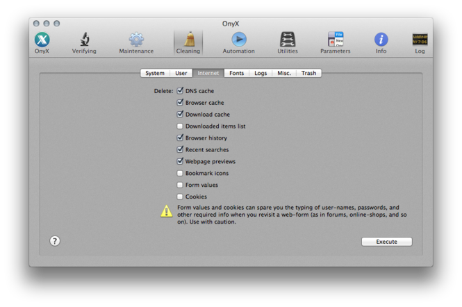 OnyX Screenshot 3