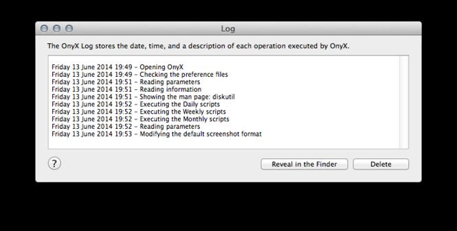 OnyX Screenshot 8