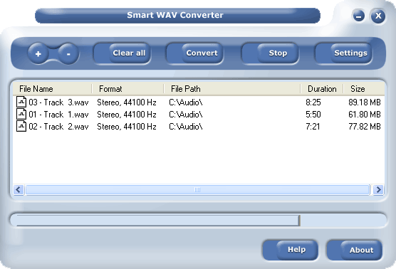 Smart WAV Converter Screenshot 1
