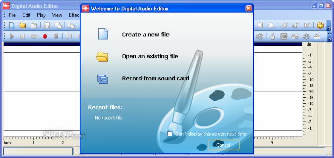 Digital Music Record Edit Burn Studio Screenshot 7