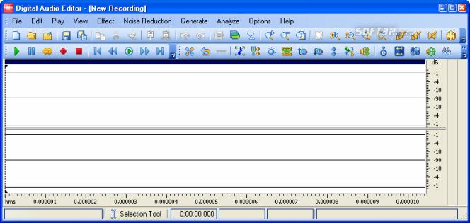 Digital Music Record Edit Burn Studio Screenshot 9