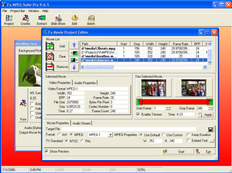Fx MPEG Suite Screenshot 1