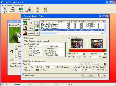 Fx MPEG Suite Screenshot 2