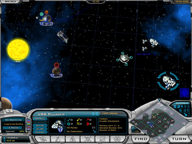 Galactic Civilizations II: Dread Lords Screenshot
