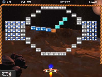 Galactic Arkanoid Screenshot