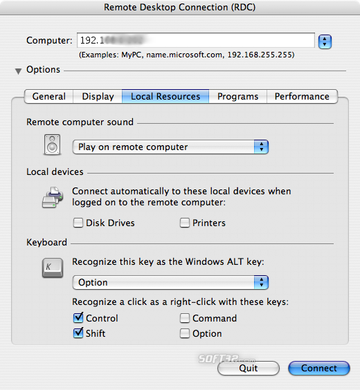 Remote Desktop Connection Screenshot 3