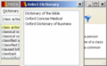 Oxford Dictionary of Business Windows 1