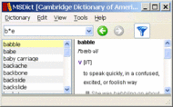 Cambridge American English Windows Screenshot