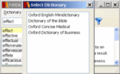 Oxford English Minidictionary forWindows 1
