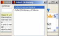 Oxford Dictionary of Idioms for Windows 1